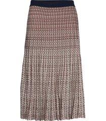 cyrilla knälång kjol multi/mönstrad baum und pferdgarten