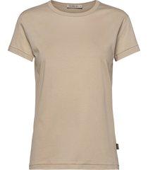 sanja t-shirts & tops short-sleeved beige tiger of sweden jeans