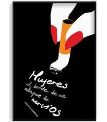 almodovar - minimalistyczny plakat filmowy