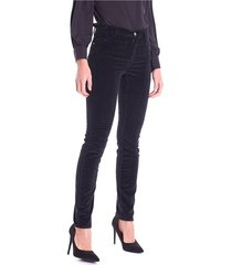 ribbed velvet pants 105 skinny trussardi jeans