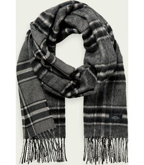 scotch & soda fluffy wool-blend scarf
