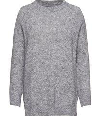 ina pullover stickad tröja grå lovechild 1979