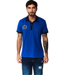 camiseta tipo polo-puntazul-azul rey-41450