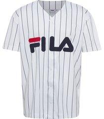 men dawn baseball tee t-shirts short-sleeved vit fila