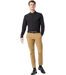 chino tapered fit trousers