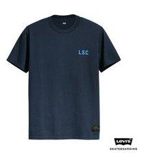 camiseta levis man skateboarding graphic