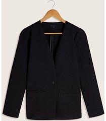 blazer negro negro s