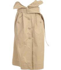 jacquemus la jupe manteau skirt short