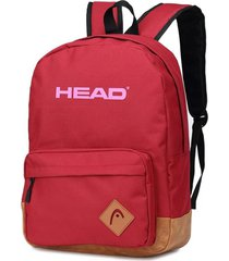mochila roja head