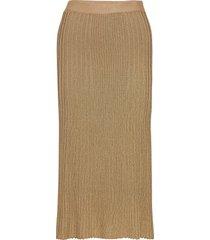 orista lång kjol guld by malene birger