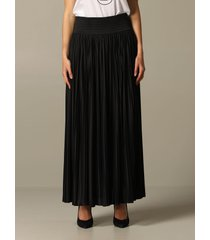 balmain skirt balmain pleated skirt with slit
