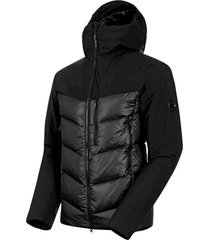 rime pro in hybrid hooded jacket men