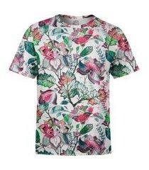 camiseta estampada over fame jardim russo