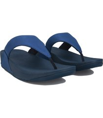 womens lulu shimmer toe thong sandals