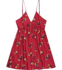 zaful mini vestido floral de cambio de deslizamiento