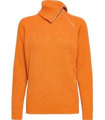 ekornes knit sweater 20-04 gebreide trui oranje holzweiler