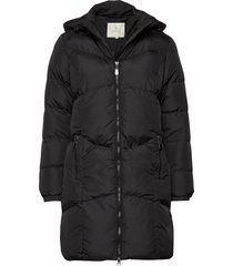 coat outerwear heavy fodrad rock svart brandtex