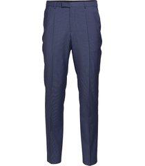 simmons182 kostymbyxor formella byxor blå hugo
