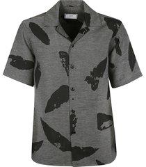 ami alexandre mattiussi printed shirt