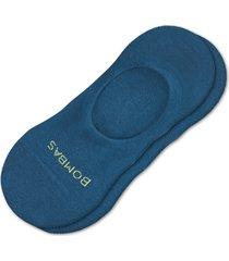 men's bombas lightweight no-show socks, size large - blue