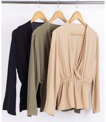 blusa negra nano camila