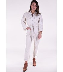 agolde jumpsuit tatum all in one beige