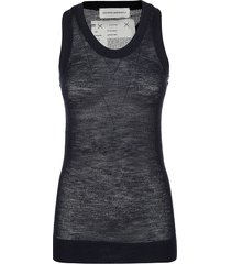 extreme cashmere cashmere mesh top