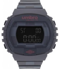 reloj digital gris umbro