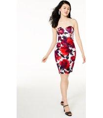 b darlin juniors' sweetheart bodycon dress, created for macy's