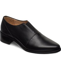 elite oxford no lace loafers låga skor svart royal republiq