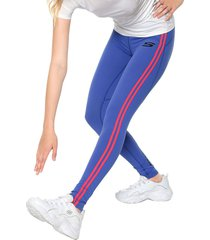 leggings azul-rosa skechers
