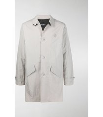 a-cold-wall* singe-breasted trench coat