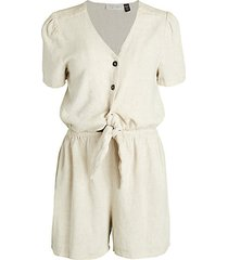 knotted waist romper
