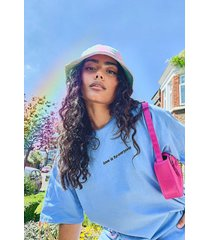 pride love is for everyone oversized t-shirt