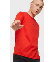 j lindeberg jordan bridge t-shirt cotton t-shirts & linnen red
