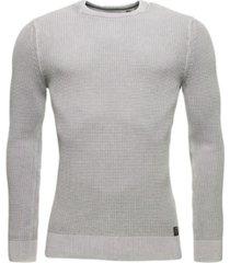 superdry men's academy dyed texture crew sweatshirt