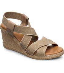 espadrilles 4324 sandalette med klack espadrilles beige billi bi