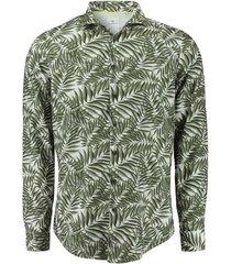 overhemd perfect fit groen