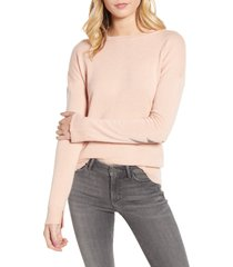 women's zadig & voltaire cici patch sleeve cashmere sweater