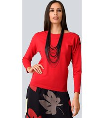 trui alba moda rood
