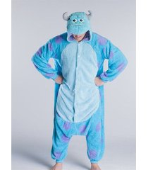 cute adults sully  cosplay costume jumpsuit kigurumi sleepsuit dress