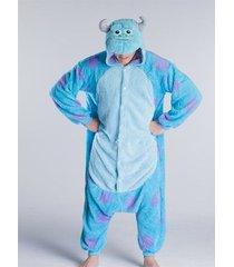 cute adults sully  cosplay costume jumpsuit kigurumi sleepsuit dress