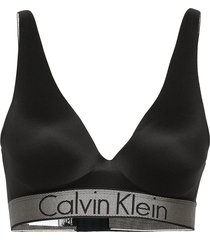 push up plunge lingerie bras & tops push-up bra svart calvin klein