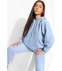 basic oversized hoodie, pastel blue