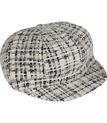 dolce & gabbana woven checked cap