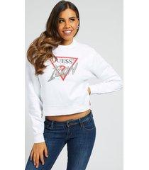 bluza z kultowym logo z cyrkoniamii