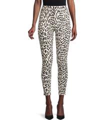 joe's jeans women's printed high-rise skinny jeans - western cheetah - size 25 (2)