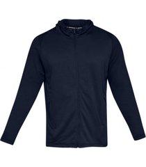 chaqueta azul under armour mk1 terry hoodie academy