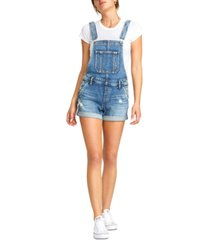 silver jeans co. denim shorts overalls