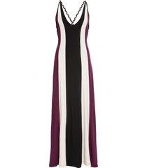 abito a fasce (viola) - bodyflirt boutique